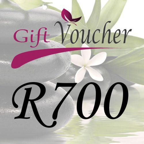 R700 Spa Gift Voucher